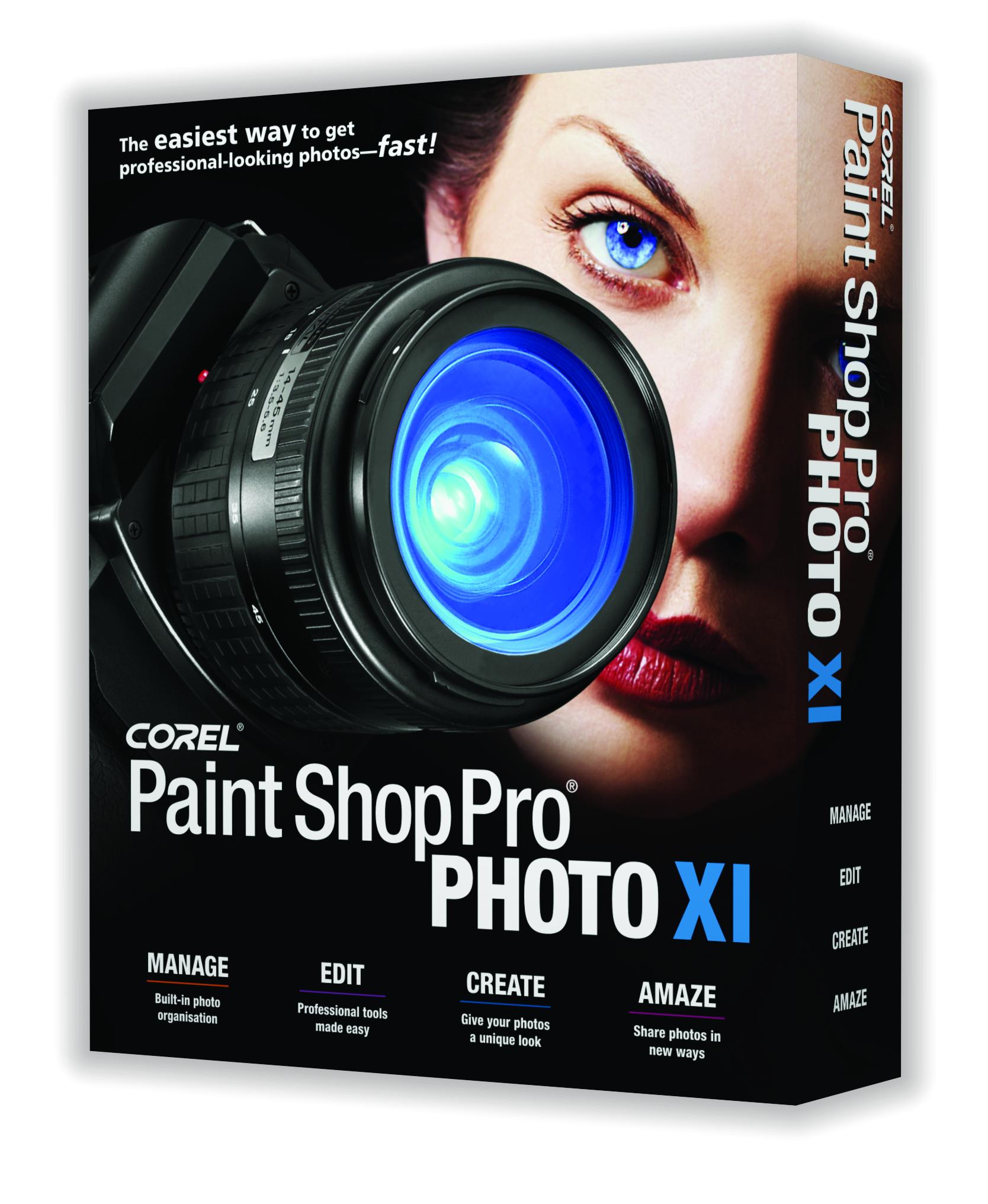 Télécharger Corel PaintShop Pro