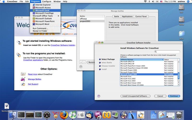 Télécharger CrossOver pour Mac
