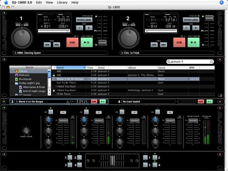 Télécharger DJ-1800 pour Mac