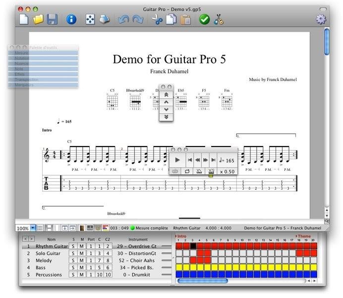 Télécharger Guitar Pro (Mac)