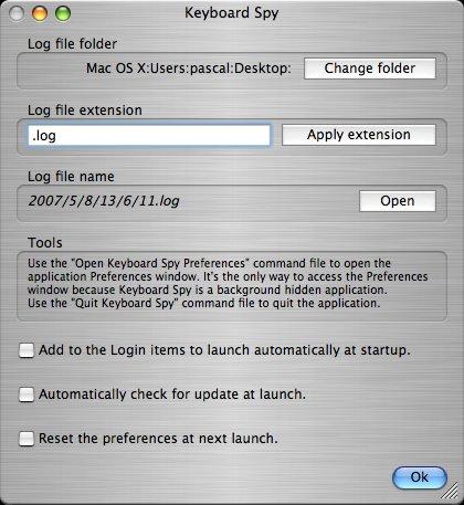 Télécharger Keyboard Spy pour Mac