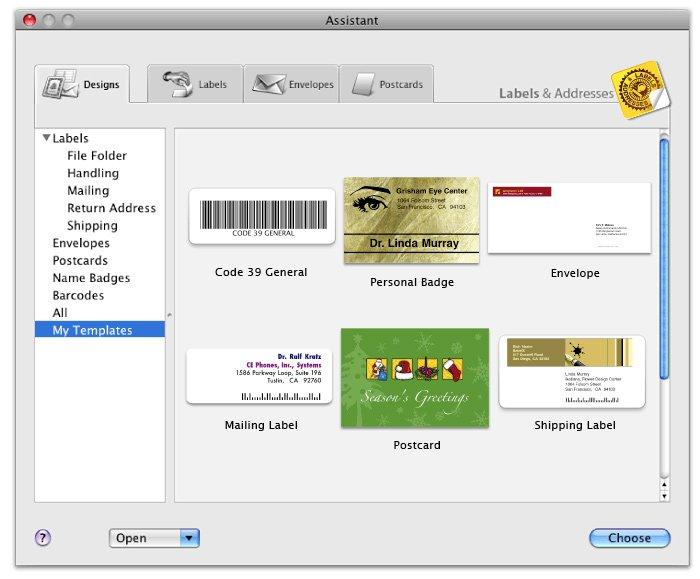 Télécharger Labels & Addresses pour Mac
