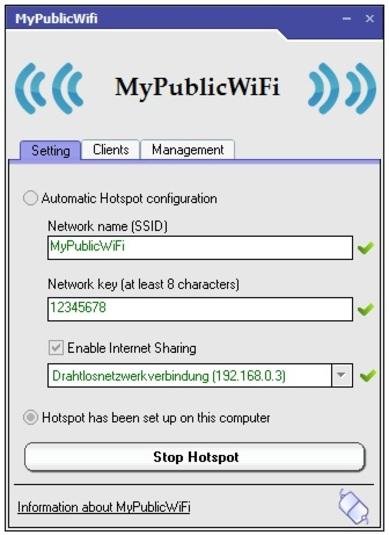 Télécharger MyPublicWifi