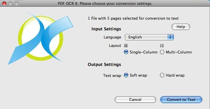 Télécharger PDF OCR X pour Mac