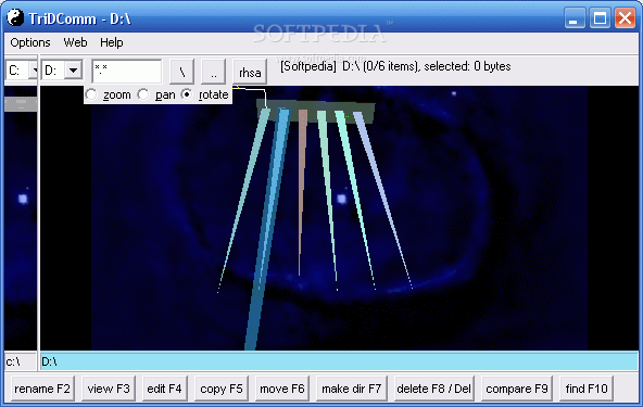 Télécharger Trid Comm 3D File Manager