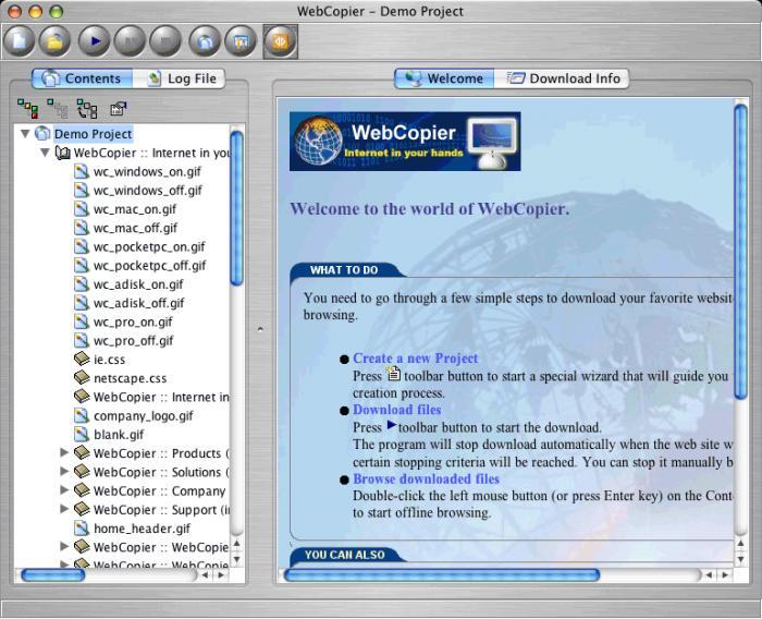 Télécharger WebCopier