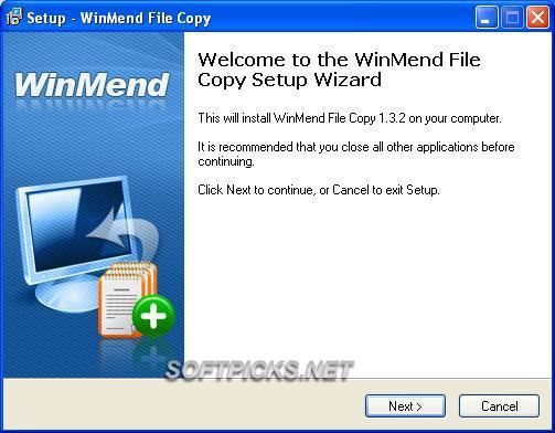 Télécharger WinMend File Copy