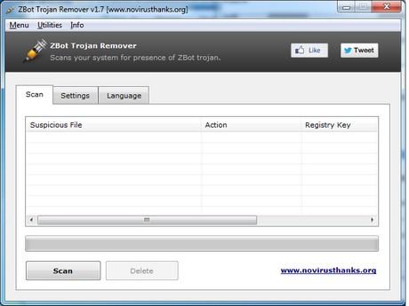 Télécharger Zbot Trojan Remover