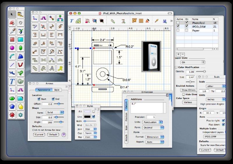 Télécharger EazyDraw pour Mac