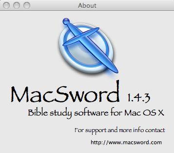 Télécharger MacSword pour Mac