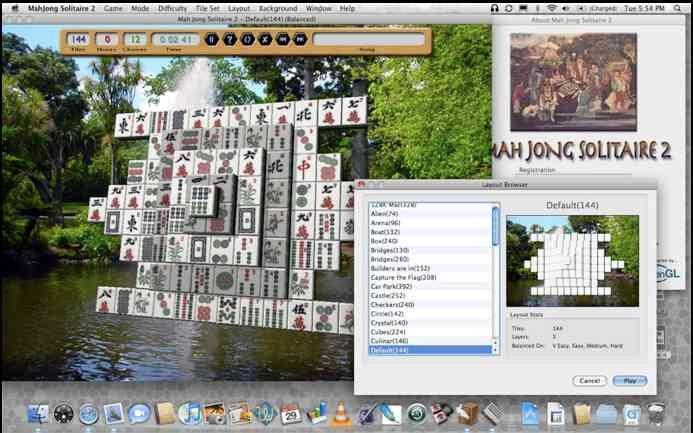 Télécharger Mah Jong Solitaire 2 pour Mac